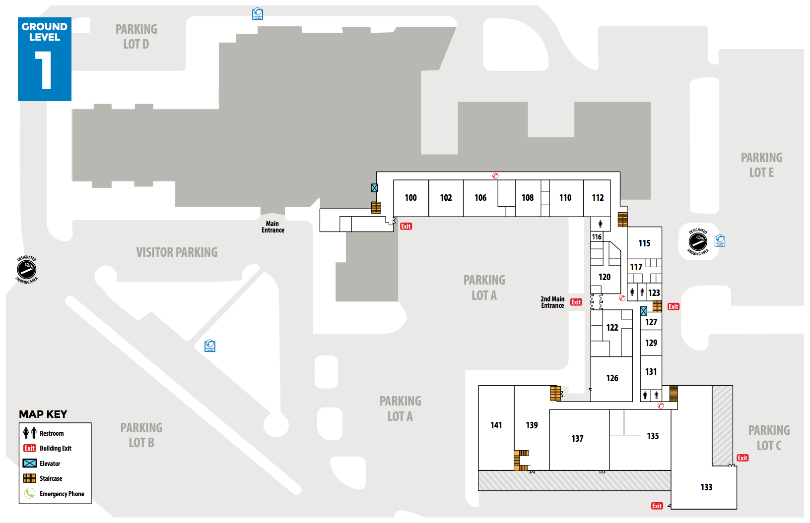 Campus Map and Directions - Manchester Community College ...
