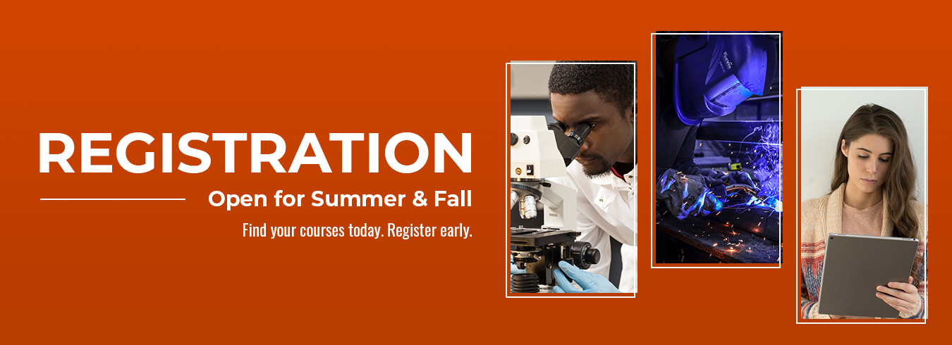 Summer & Fall 2021 Registration is now open.