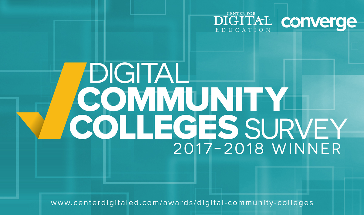 Digital Community Colleges Survey Winner