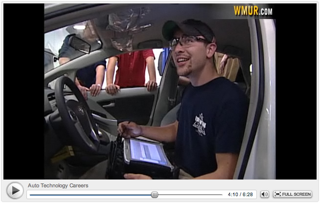 MCC Student Matt Simons is featured in the NH Chronicle segment.