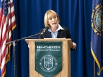Hassan announces her campaign for Governor
